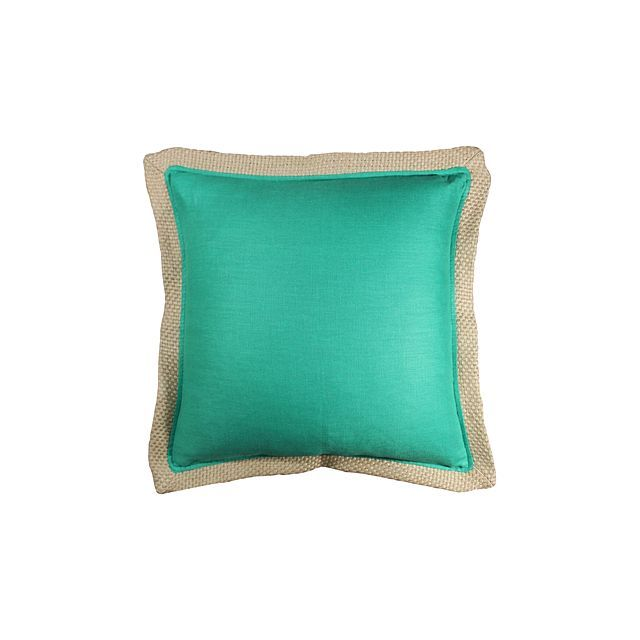 Grand Designs Home Collection Block Cushion With Braid