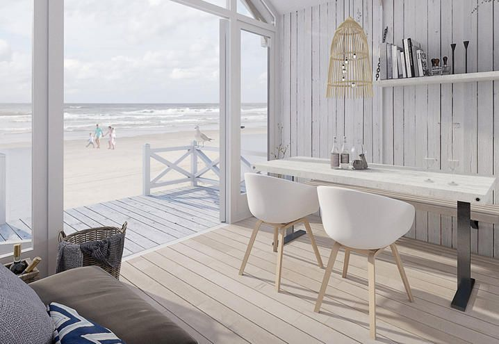 Bungalow sulla spiaggia Olanda | lartdevivre - arredamento online