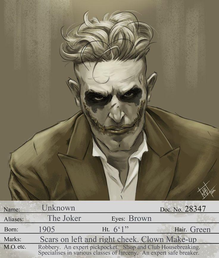 1930s Joker by Yellaboy23