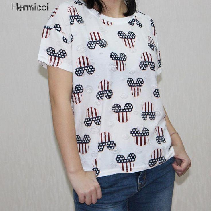 >> Click to Buy << Japanese Harajuku Hole T Shirt Women Short Sleeve  Camisetas Manga Larga Mujer Marca Summer Casual Kawaii Tshirt For Teenages #Affiliate
