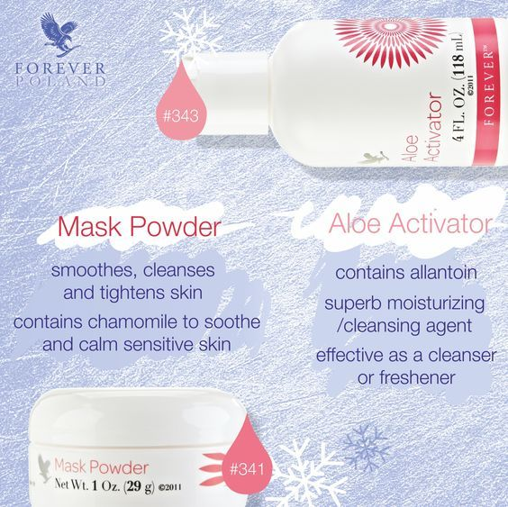 Sexy Forever living facial products impressive