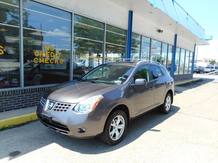2008 #Nissan Rogue SL. All-wheel drive with Sirius, CD changer, and premium sound!