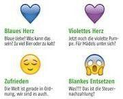 Bedeutung von Symbolen - Herz Farben - Smileys - auch bei Whatsapp