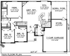 1520 sqft 3/2, garage, screened rear porch