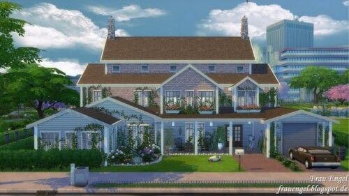 Stefania house by Frau Engel for The Sims 4