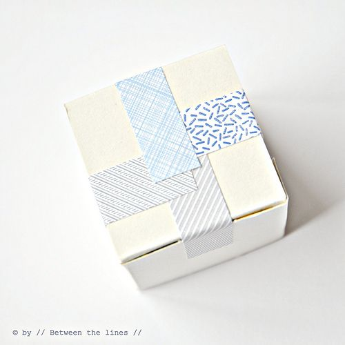 make your own washi tape - she says to use paper, but i reckon fabric would work well too!