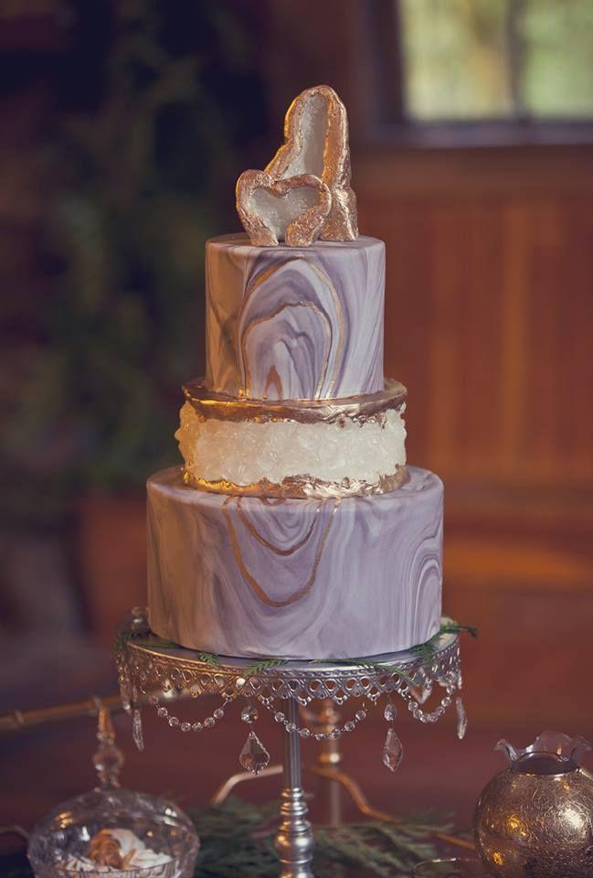 Geode cake by Liz Marek - Artisan Cake Company