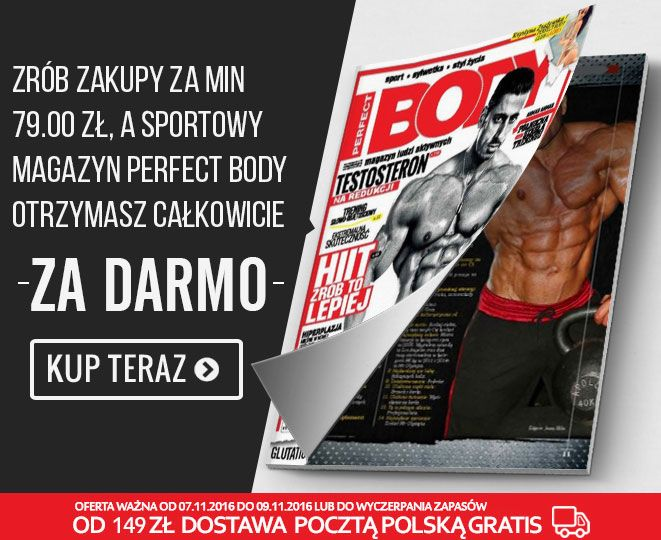 Kupując odżywki lub suplementy diety http://www.kulturystyka.sklep.pl/ od poniedziałku do środy otrzymasz w przesyłce magazyn fitness Perfect Body zupełnie za darmo!  #kulturystyka_sklep #shop #gliwice #silesia #śląsk #odżywki #suplementydiety