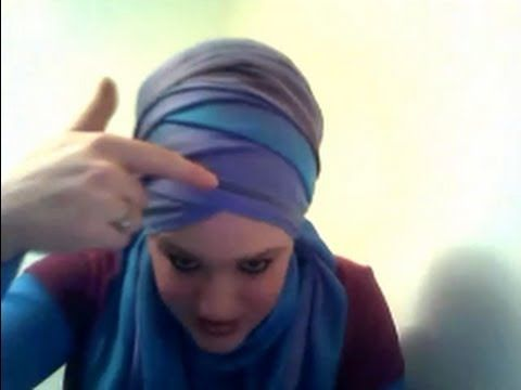 Hijab Tutorial # 30 - Folded fun