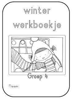 * Winter werkboekje voor groep 4