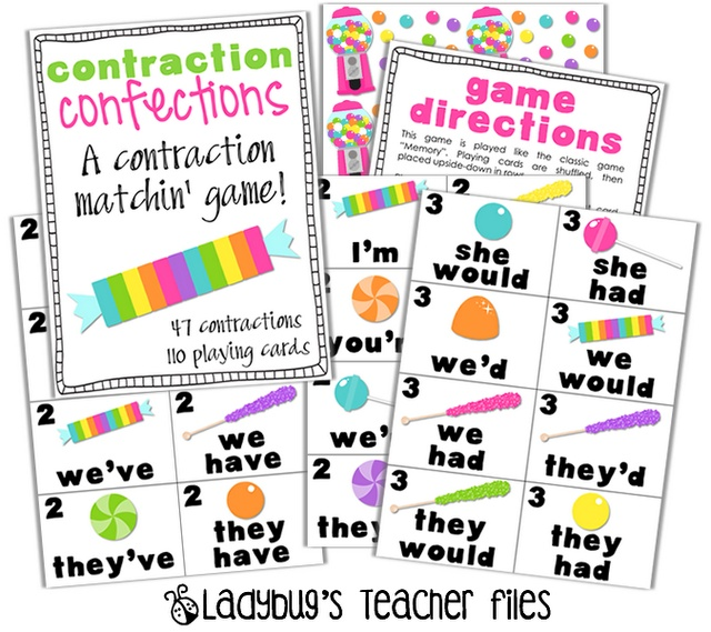 how to make printables with powerpoint: Confect Games, Language Art, Teacher Tips, Contract Confect, Ladybug Teacher Files, Ladybugs Teacher File, Teacher Notebooks, Contract Games, Classroom Ideas