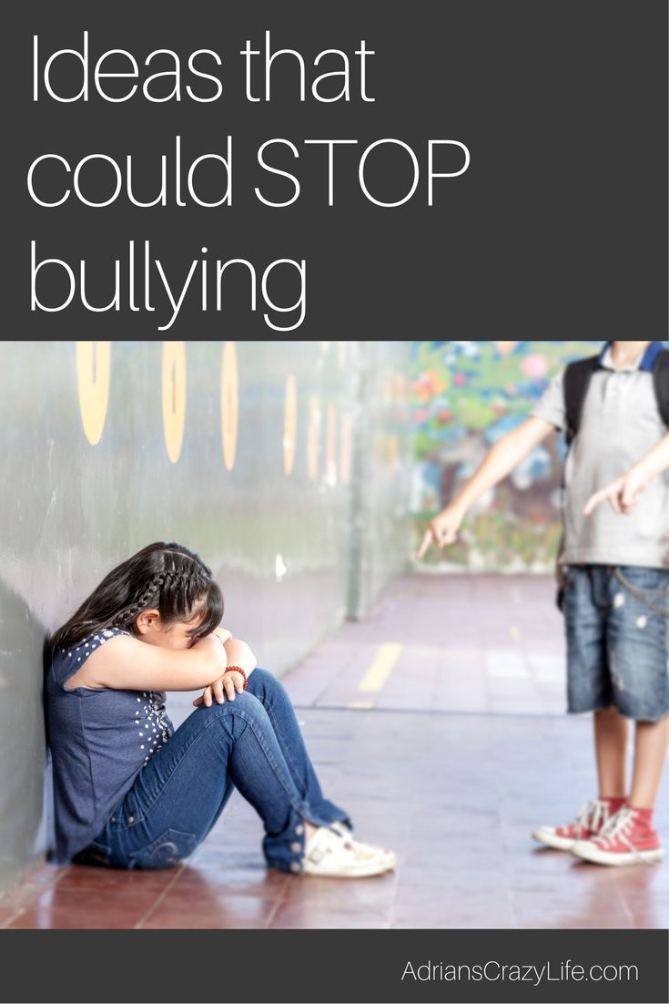 how to stop a child from bullying