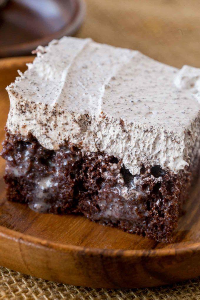 Oreo Poke Cake Recipe Oreo Poke Cakes Poke Cake Recipes Low Calorie Desserts