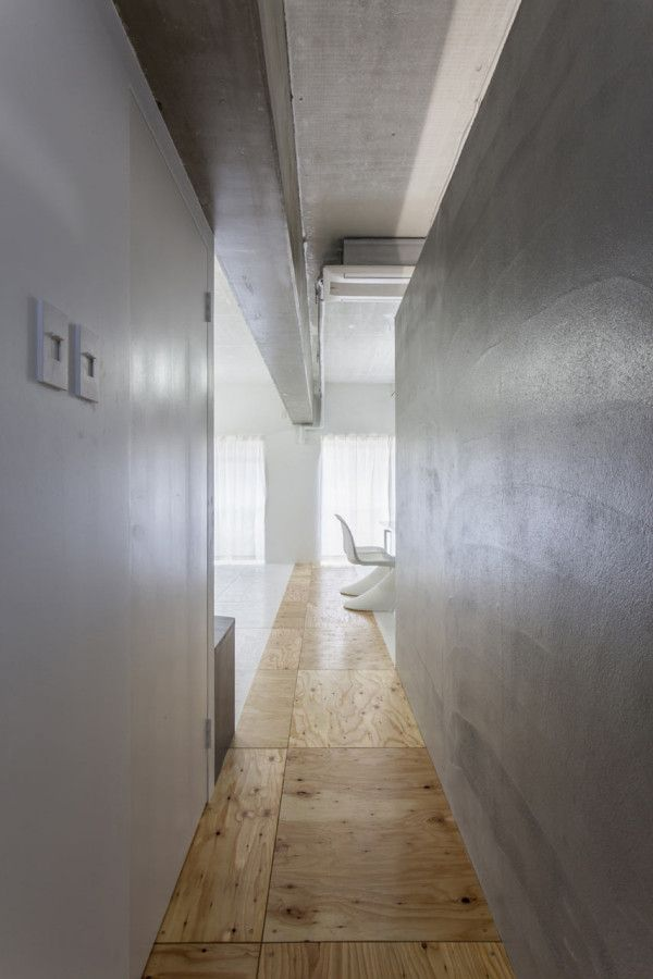 renovation of a reinforced concrete frame apartment