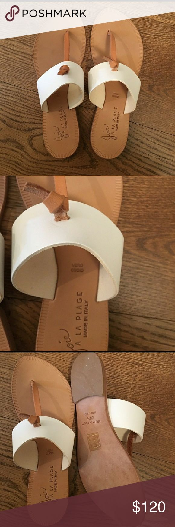 Joie La Plage Sandals New without tags,  never worn.  Perfect condition.  No trades no PayPal.  Offers welcome through the offer button but price is pretty firm for now.  ?? Joie Shoes Sandals