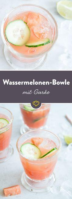 ie saftige Gurke ist der perfekte Partner zur fruchtigen und ebenso saftigen Wassermelone. Gurke und Melone mit etwas Vodka und reichlich Eis in einem Glas – mehr Erfrischung geht nicht.