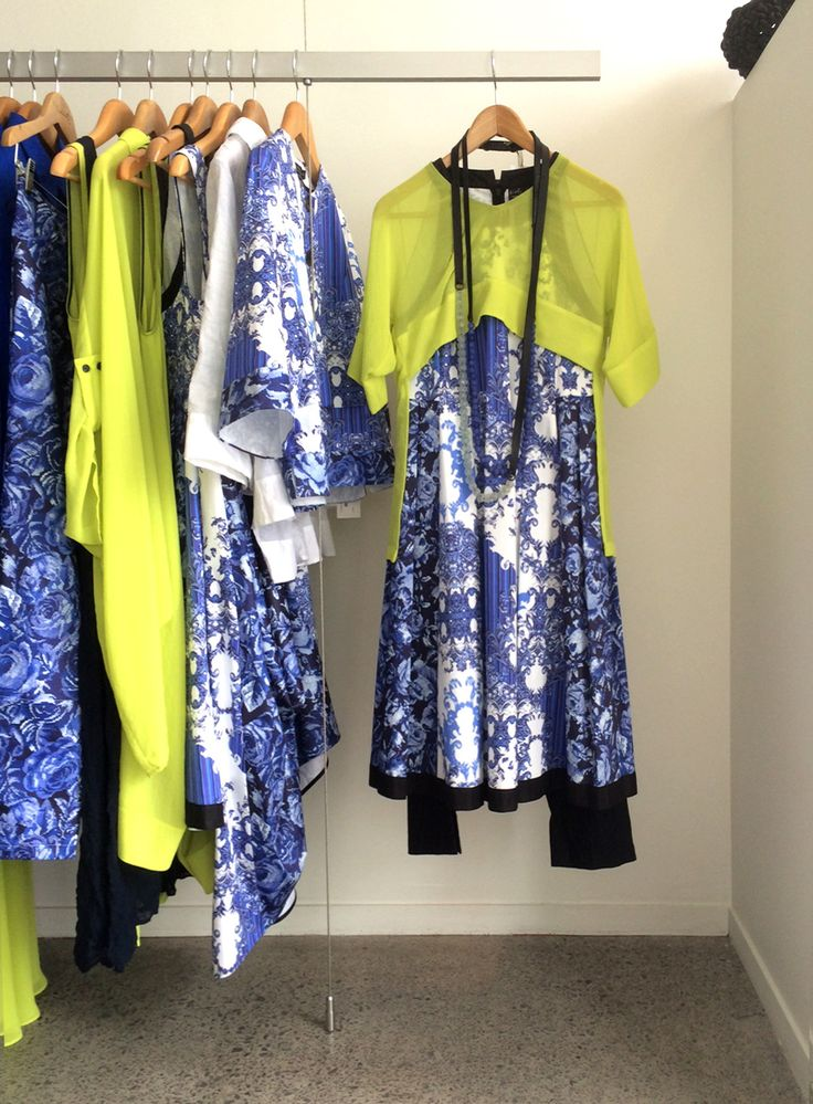 In store display at Nicola Waite Auckland. High Summer 2013