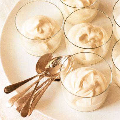 Classic English pudding -- Lemon curd syllabub recipe - Red Online