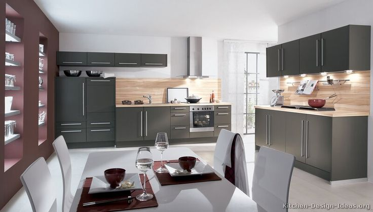 Nice 129 Best Gray Kitchens Images On Pinterest | Contemporary Unit Kitchens,  Kitchens And Modern Kitchens