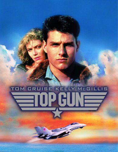 """Top Gun"" Guilty pleasure +  young Tom Cruise with aviator glasses and a bomber jacket!"