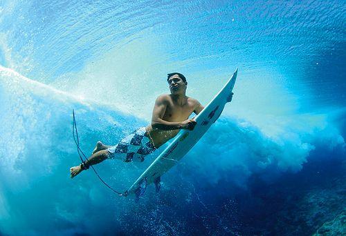 underwater surfer girl desktop - photo #22