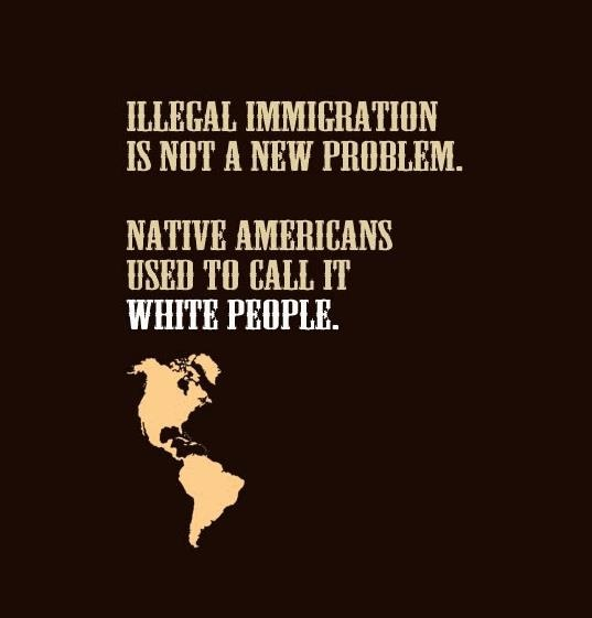 Rethink your nasty attitudes toward immigrants. Did your ancestors need work permits or green cards? No, they just came for the American dream and worked their way up. Lucky for us the Native Americans had no walls or border patrols.