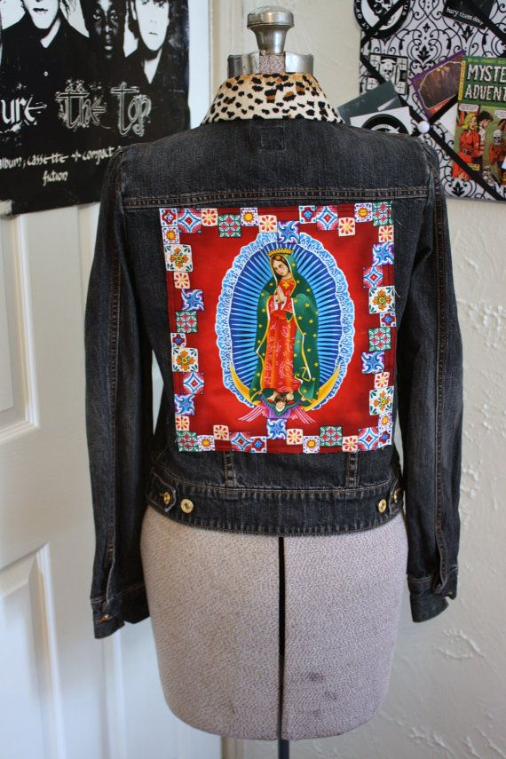 Patches On Jean Jacket