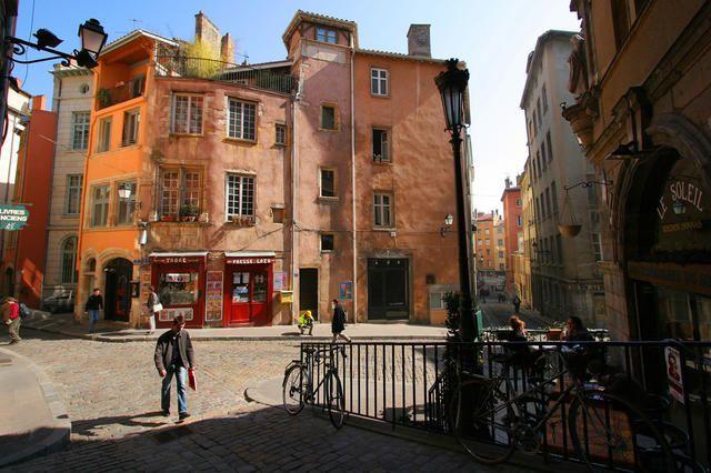 Quartier Saint Jean dans le Vieux-Lyon