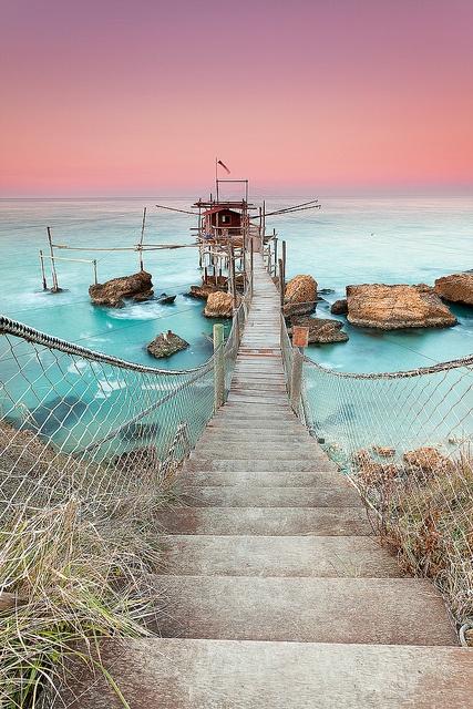Punta Torre, Costa dei Trabocchi, Rocca San Giovanni, Puglia