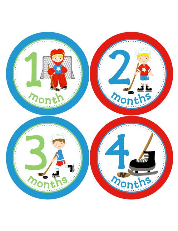 Hey, I found this really awesome Etsy listing at https://www.etsy.com/listing/182443513/baby-boy-hockey-monthly-baby-stickers