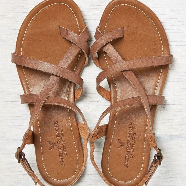 American Eagle Strappy Criss Cross Sandals Shoes Shoes