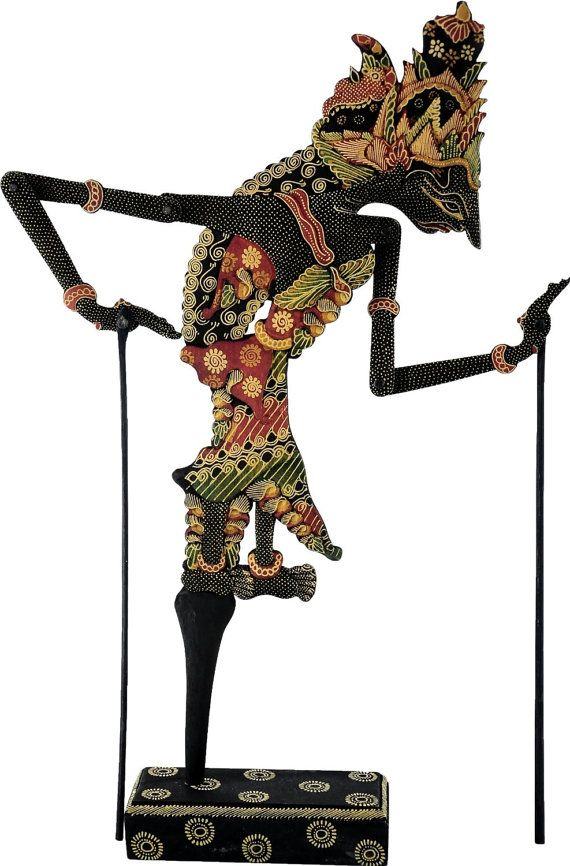 Handcrafted Wood Shadow Puppet Wayang Kulit by AsianSecrets, $59.95