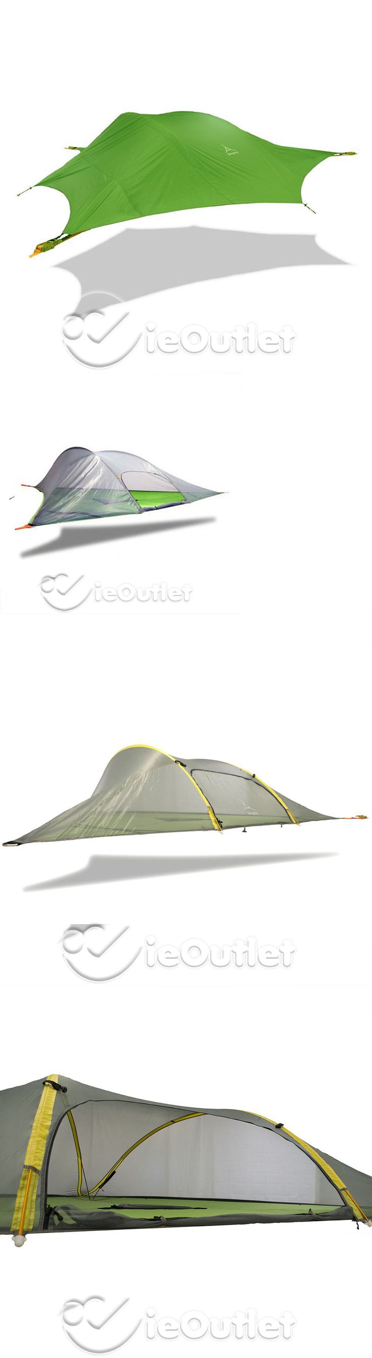 Tents 179010: Brand New Tentsile Stingray 3-Person Tree House Hammock Tent W Fresh Green Fly -> BUY IT NOW ONLY: $449.95 on eBay!