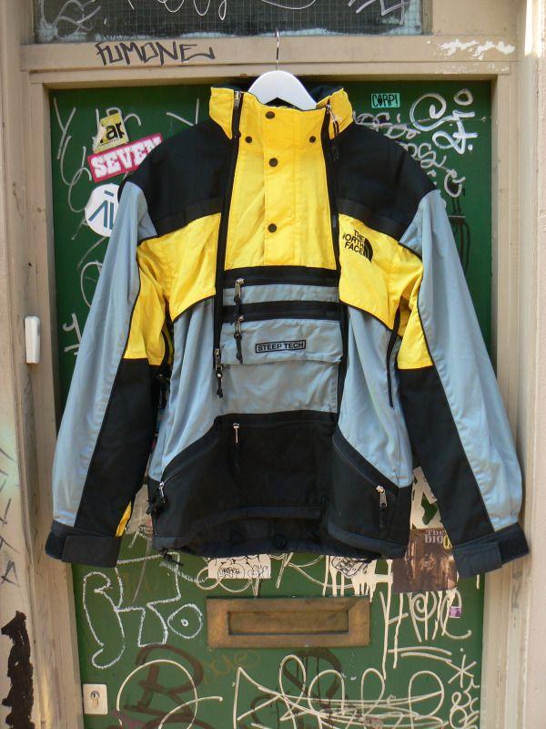 Vintage North Face Scott Schmidt Steep Tech Jacket In 2019