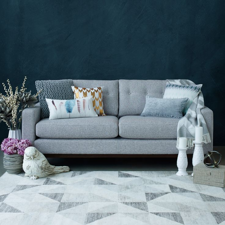 Miller Sofa   Sting Grey | Urban Barn Decor | Pinterest | Urban Barn, Living  Rooms And Extra Seating Part 96