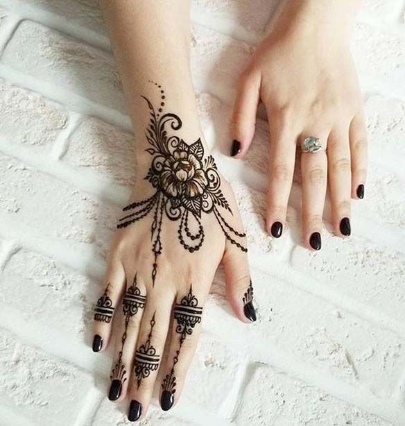 Most Simple & Easy Mehndi Designs