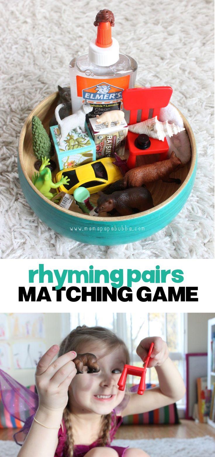 40 best Literacy: Rhyming images on Pinterest | Preschool, Literacy ...