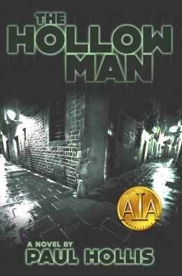 """Art cover for the book """"The Hollow Man""""."""