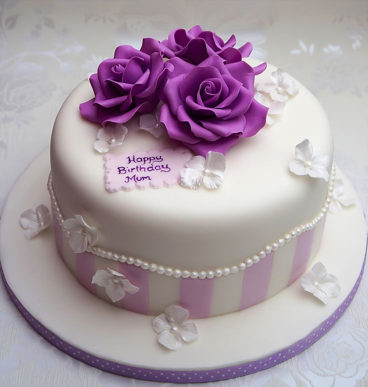 Mother Birthday Cake Photo : Best 25+ Mother Birthday Cake ideas on Pinterest Flower ...