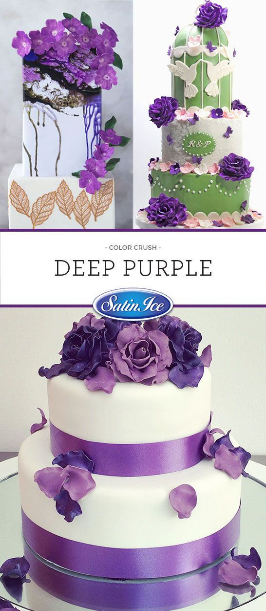 Use one of these regal purples to catch the attention of all your guests!