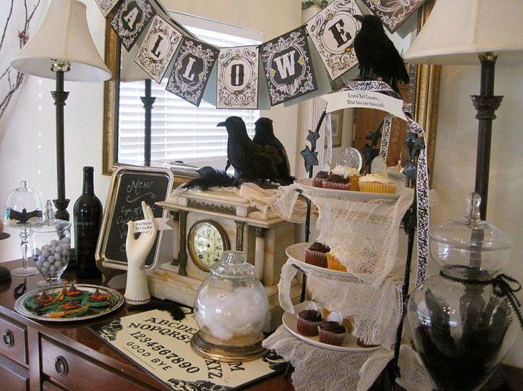 best 25 halloween buffet ideas on pinterest halloween buffet table halloween party ideas and. Black Bedroom Furniture Sets. Home Design Ideas