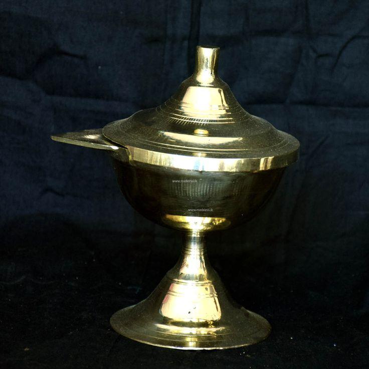 Brass Oil Lamp 05