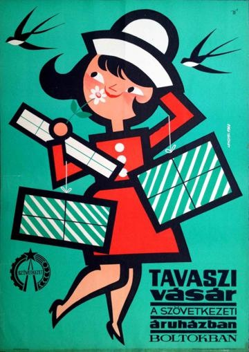 Spring Sale 1966 Artist: Lengyel, Sándor available at the Budapest Poster Gallery