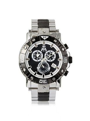 67% OFF Jivago Men's JV9122 Titan Two-Tone Silver/Black Watch
