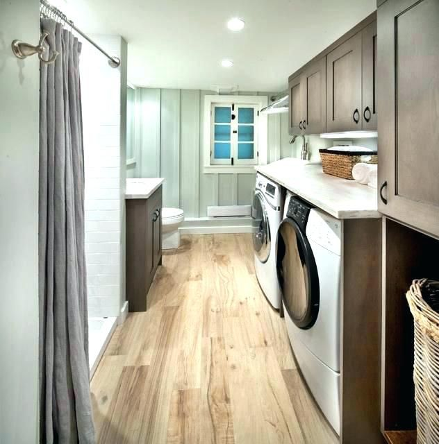 20 Small Laundry With Bathroom Combinations House Design And Decor Laundry Room Bathroom Laundry Room Flooring Laundry Bathroom Combo