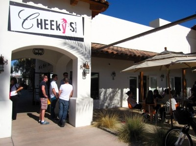 Cheeky's Restaurant in Palm Springs, CA   An excellent restaurant for breakfast and brunch.