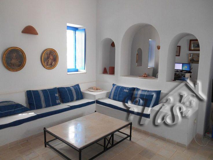 Salon de houch djerbien djerba dar arbi projet pinterest djerba achat maison et djerba for Salon de maison en tunisie