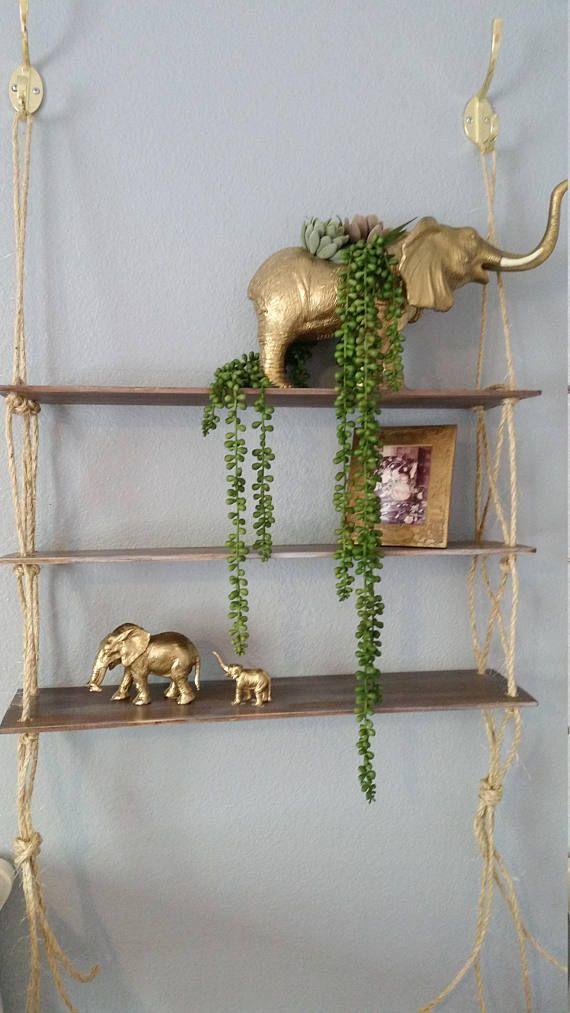 Best 25 Rope Shelves Ideas On Pinterest Hanging