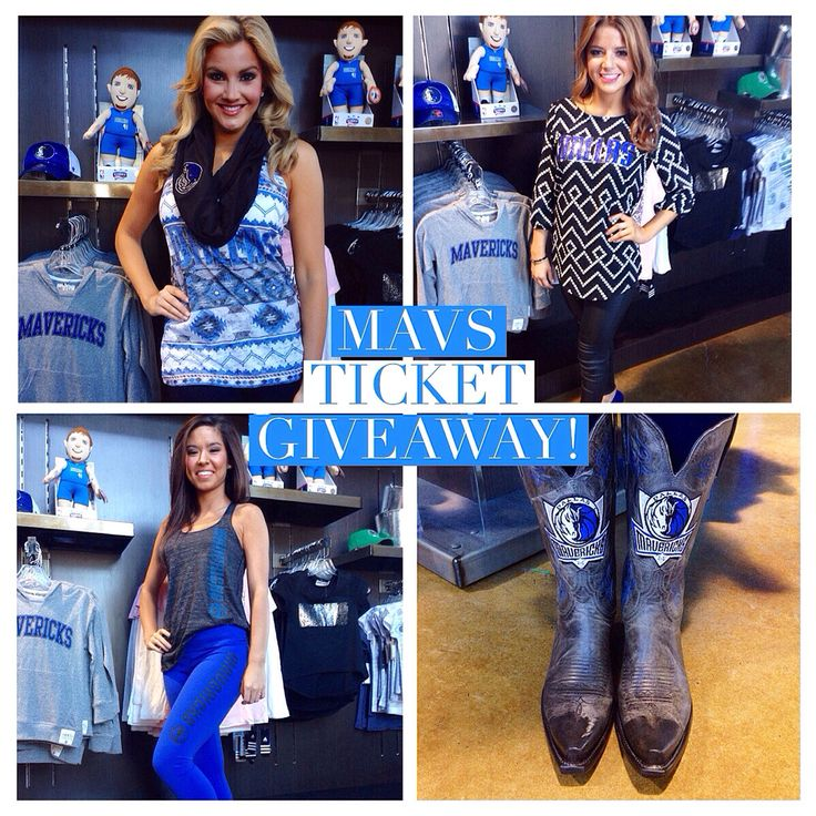 Free Mavs tickets? Score them on TheGinaMiller.com. #MFFLStyle