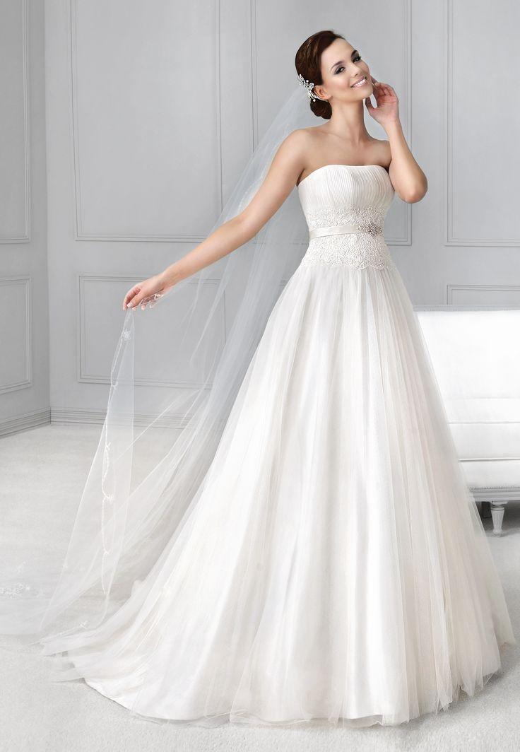 tylová sukně svatební šaty Agnes 11735